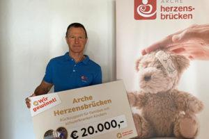 Arche Herzensbrücken gewinnt bei jö Bonusclub