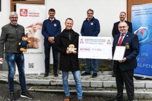 IPA Award für Arche Herzensbrücken