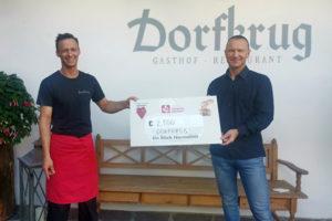 Spendenaktion Dorfkrug Arche Herzensbrücken