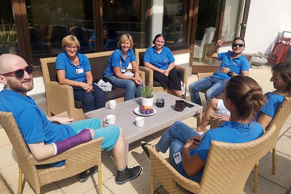 Team Arche Herzensbrücken Sommerwochen für schwer erkrankte Kinder